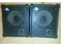TORQUE PA SPEAKERS VERY PORTABLE GREAT SOUND £40