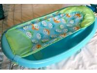 Newborn - toddler baby bath