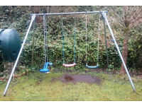 Double swing and seesaw