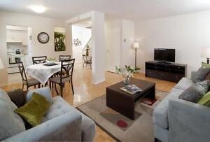 5 1/2 Bright & Spacious Apartment West Island FREE Satellite TV