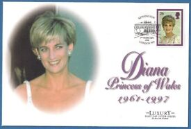 1998 - LUXURY FIRST DAY COVER - DIANA, PRINCESS OF WALES - MINT CONDITION