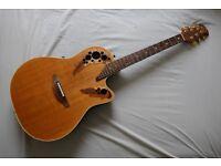Ovation Elite Shallow Body Guitar
