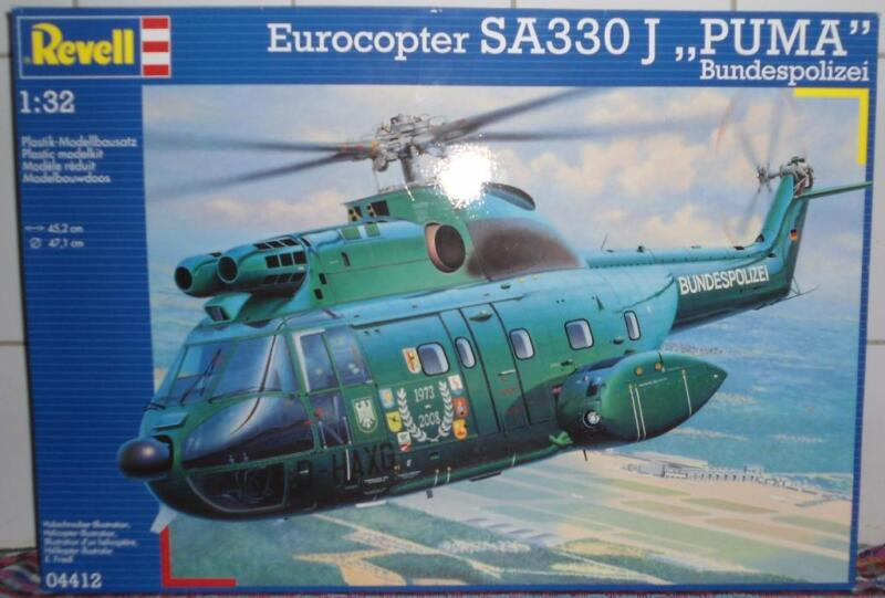 revell bausatz hubschrauber eurocopter sa330 j puma. Black Bedroom Furniture Sets. Home Design Ideas