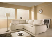 **SALE PRICE SOFAS**BRAND NEW CORNER SOFA BEDS, AVAILABLE IN 2 COLOURS***UK DELIVERY AVAILABLE
