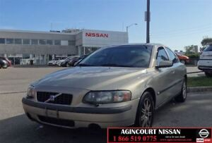 2004 Volvo S60 2.5T A SR |AS-IS SUPER SAVER|