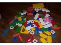 baby bristle lego type toy construction
