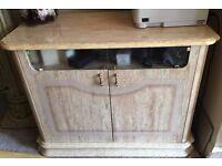 Italian TV cabinet stand classic beige furniture