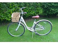 Vintage Raleigh Caprice Ladies Bicycle 3 Speed with Retro Wicker Basket