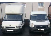 MAN AND VAN MOTORBIKE MOPED RECOVEREY BIG VAN HIRE MOVING SERVICE HOUSE MOVERS LONDON TO IRELAND