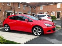 Vauxhall Astra GTC with parking sensors