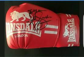 🌟Authentic Signed Anthony Joshua Boxing Glove🌟