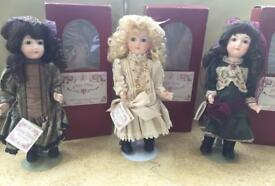 Georgia Vienna Collectable dolls