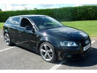 Audi A3 2.0 TDI S Line Black Edition 170BHP (5 Door)