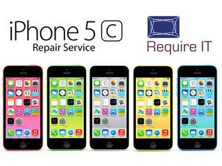 Iphone 5c screen replacement for only £55.20 with full warranty