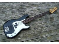 Fender Precision Bass Guitar - American Special Body, Mexican Jazz Reverse Neck