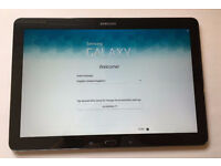 """Samsung Galaxy Tab Pro Wi-Fi, 12.2"""" Black model sm-t900 32GB with case, keyboard and Tempered Glass"""