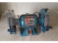 """Clarke 8"""" bench grinder"""