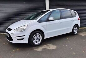 2014 FORD S-MAX ZETEC 1.6 TDCI 7 SEATER NOT VW TOURAN SHARAN GALAXY ALHAMBRA QASHQAI ZAFIRA Q7