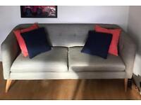 John Lewis 2 Seater Sofa Grey