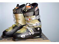 Men's Salomon Ellipse 0.9 Black/Titanium Ski Boots