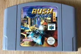 N64 San Francisco rush 2049