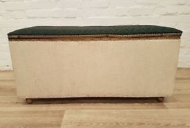 Vintage Ottoman (DELIVERY AVAILABLE)