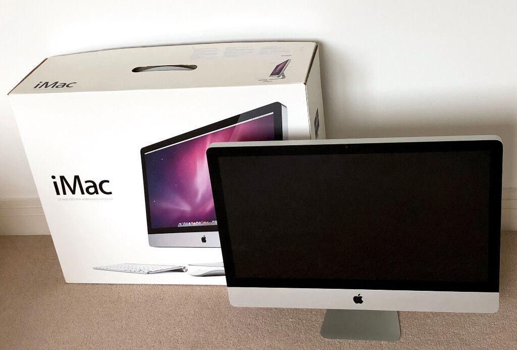 """Apple iMac 27"""" 3.2 GHz, Intel i3, 4GB Ram, 1TB Hard Drive, Boxed MC510B/A"""