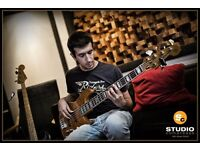 BASS GUITAR/ELECTRIC BASS LESSONS/TUITIONS (ALL LEVELS) WITH PRO BASSIST