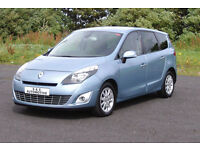 RENAULT GRAND SCENIC PRIVILEGE TOM-TOM DCI (7 SEATER) 12 MONTHS M.O.T 6 MONTHS WARRANTY
