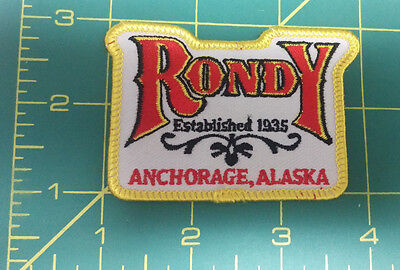 Embroidered Alaska Patch - Anchorage Alaska Rondy Est 1935 - AK Fur Rendezvous