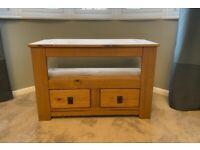 Pine TV unit - corner stand - RRP £90