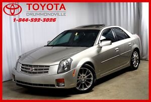 2007 Cadillac CTS 3.6L/CUIR/TOIT OUVRANT
