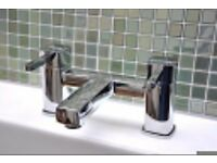 BRAND NEW BOXED - Bath Sink Double Lever Tap