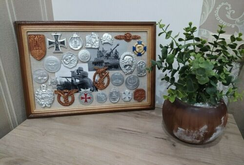 25 pcs  Russian WW2  Medal Orden Badge Pin Photo Military Souvenir collection