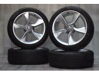 19'' Genuine VAUXHALL Astra alloys and tyres