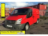 Ford Transit 2.2 260 SWB , 1 Owner From New, Full Service History -75K 11 Stamps , 1YR MOT, Warranty