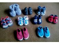Boys shoes slippers and sandles size 4