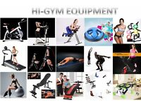 Home Gym Fitnesses Exercise Bike/AB Glider/Elliptical Cross/Bench/Exercise Wheel/Treadmill/Climber