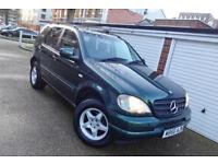 ** 2000 W Mercedes ML270 CDI Auto 7 Seats **