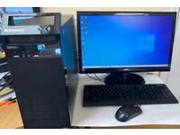 Fast i3 8GB Lenovo HD Desktop pc,Massive 640GB,Window10,Microsoft office,Ready