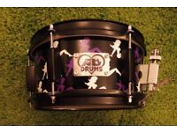 10x5 AD Custom Snare Drum. Maple Shell. With extra brand new head