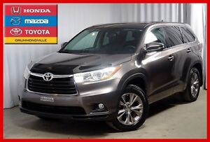 2014 Toyota Highlander AWD/8PASSAGERS/IMPECCABLE