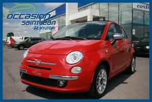 2012 Fiat 500 C Lounge  CONVERTIBLE