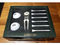 GOLF TEES GIFT BOX ST ANDREWS THE OLD COURSE GOLFERS SET