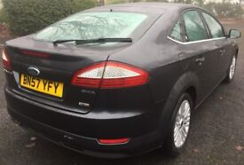 2007 FORD MONDEO 2.0 GHIA TDCI HATCHBACK+10 MONTH MOT+FULL VOSA HISTORY+EX COMPANY CAR+HPI CLEAR!!