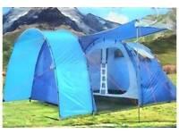 Adventuridge 5 Man tent camping blue used once