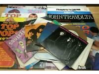 Record/Vinyl Joblot. Albums & Singles (45's). Various genres
