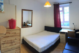 Double room for single person, 5min walk to Fulham Broadway Station