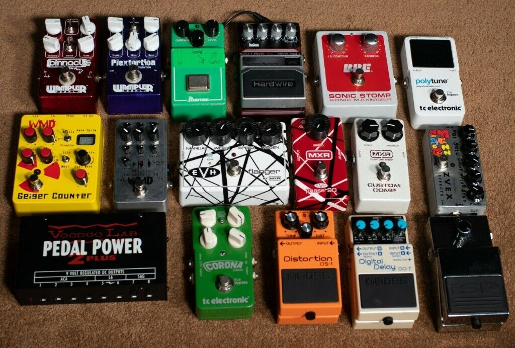 Lots of rare and high end pedals (Strymon, Eventide, Crybaby, Zvex,  Wampler, BBE, Keeley ect) | in Saltdean, East Sussex | Gumtree