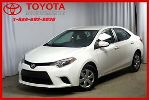 2014 Toyota Corolla LE/CAM RECUL/SIEGES CHAUFFANT
